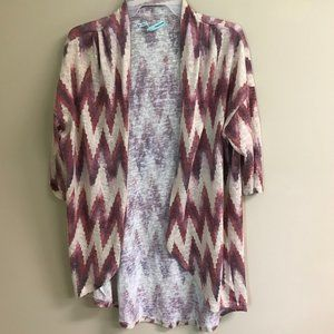 Maurices chevron cardigan